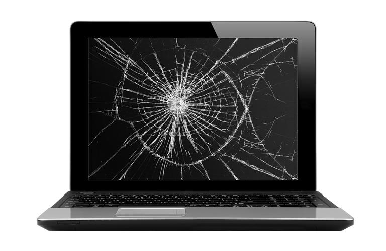 laptop scherm kapot